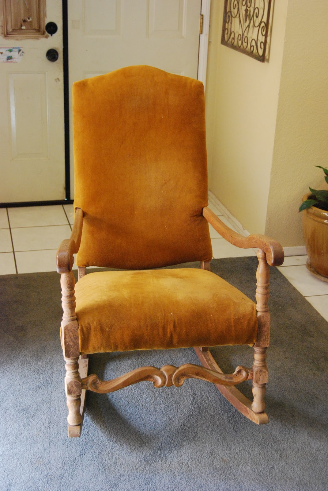 French Provincial Nursery Rocking Chair