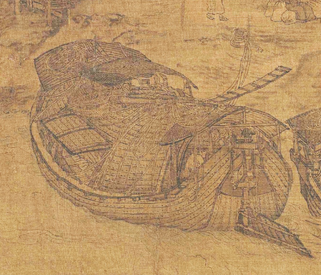 清明上河図  年前の中国の暮らしがわかる絵巻物