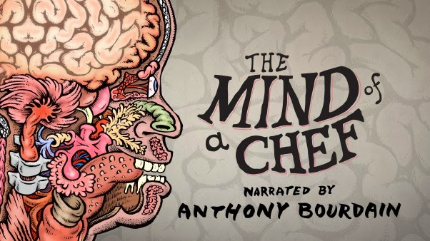 The Mind of a Chef Logo, PBS