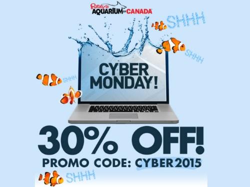 Ripley's Aquarium Cyber Monday 30% Off Tickets
