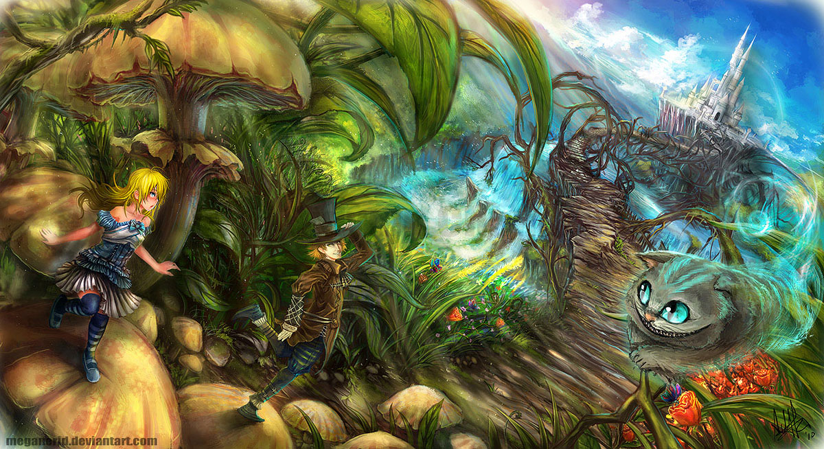 Alice Wonderland Art