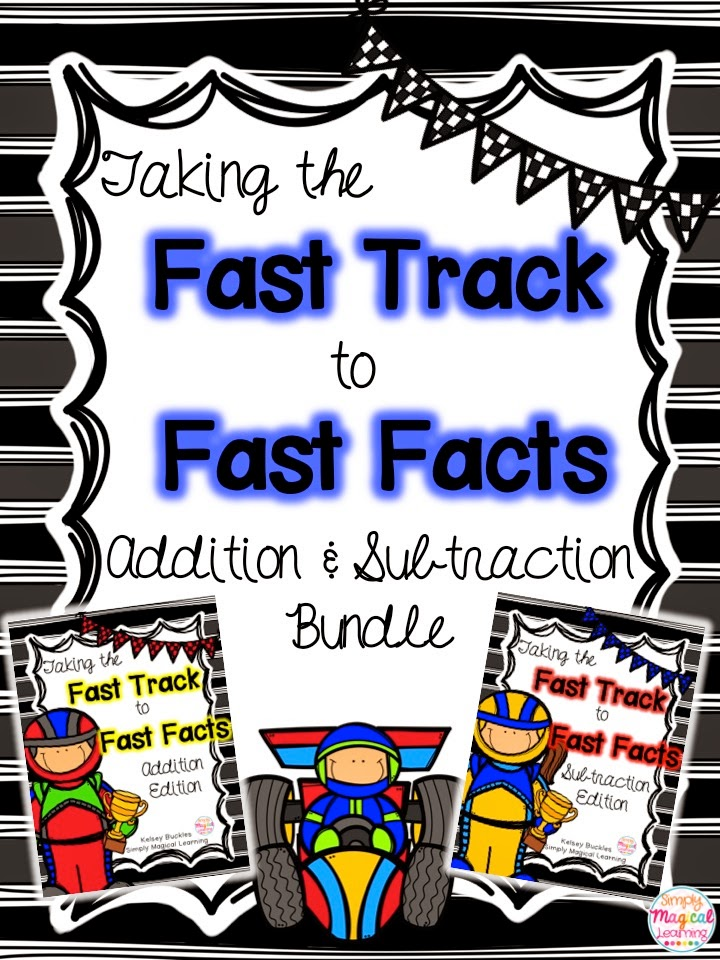 http://www.teacherspayteachers.com/Product/Fast-Track-to-Fast-Facts-Addition-Subtraction-Bundle-1588885