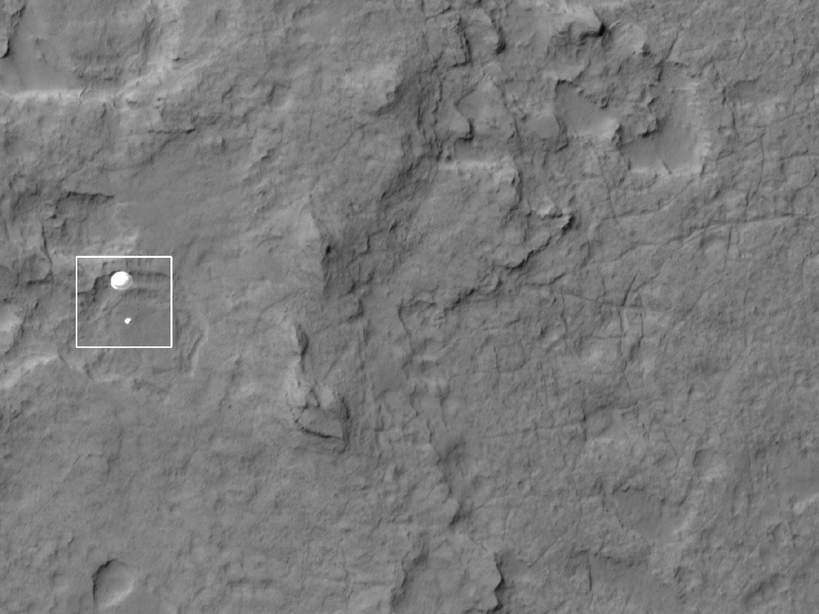 nasa curiosity rover landing - photo #21