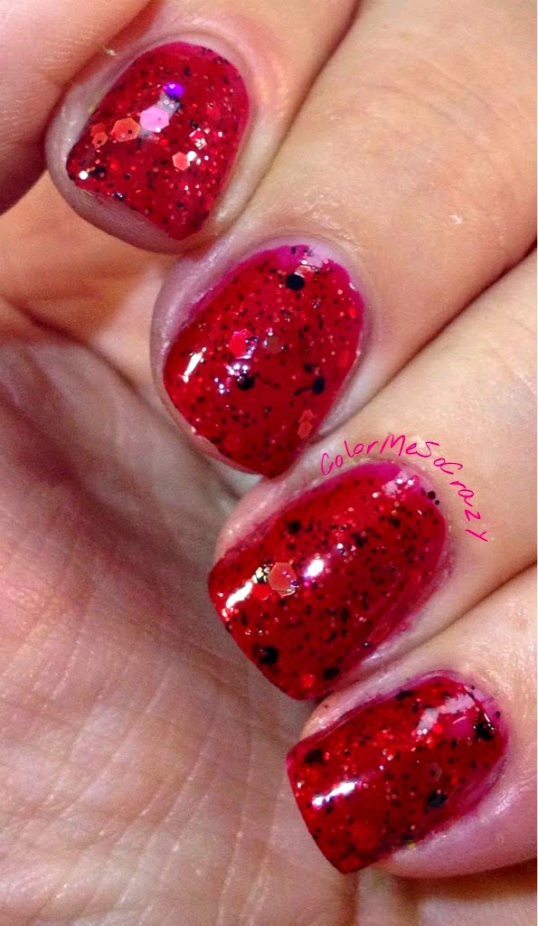 Nerd Lacquer in Warrior Ethos shows us #RedCoatTuesday