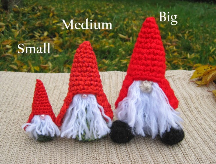 Amigurumi Hello Kitty Free Pattern : Little Gnomes with Mushroom Houses: New Amigurumi crochet ...