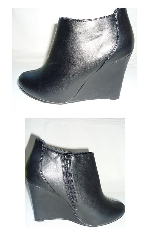 Envidedressing Boots Compensees Noir Taille 38 Kiabi Vendues