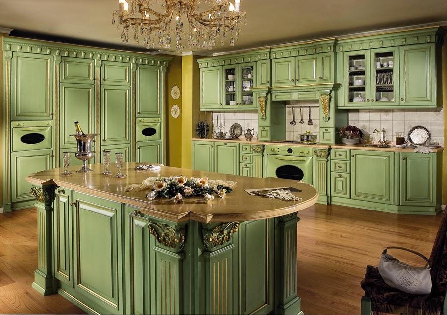 Элитный дизайн классической кухни