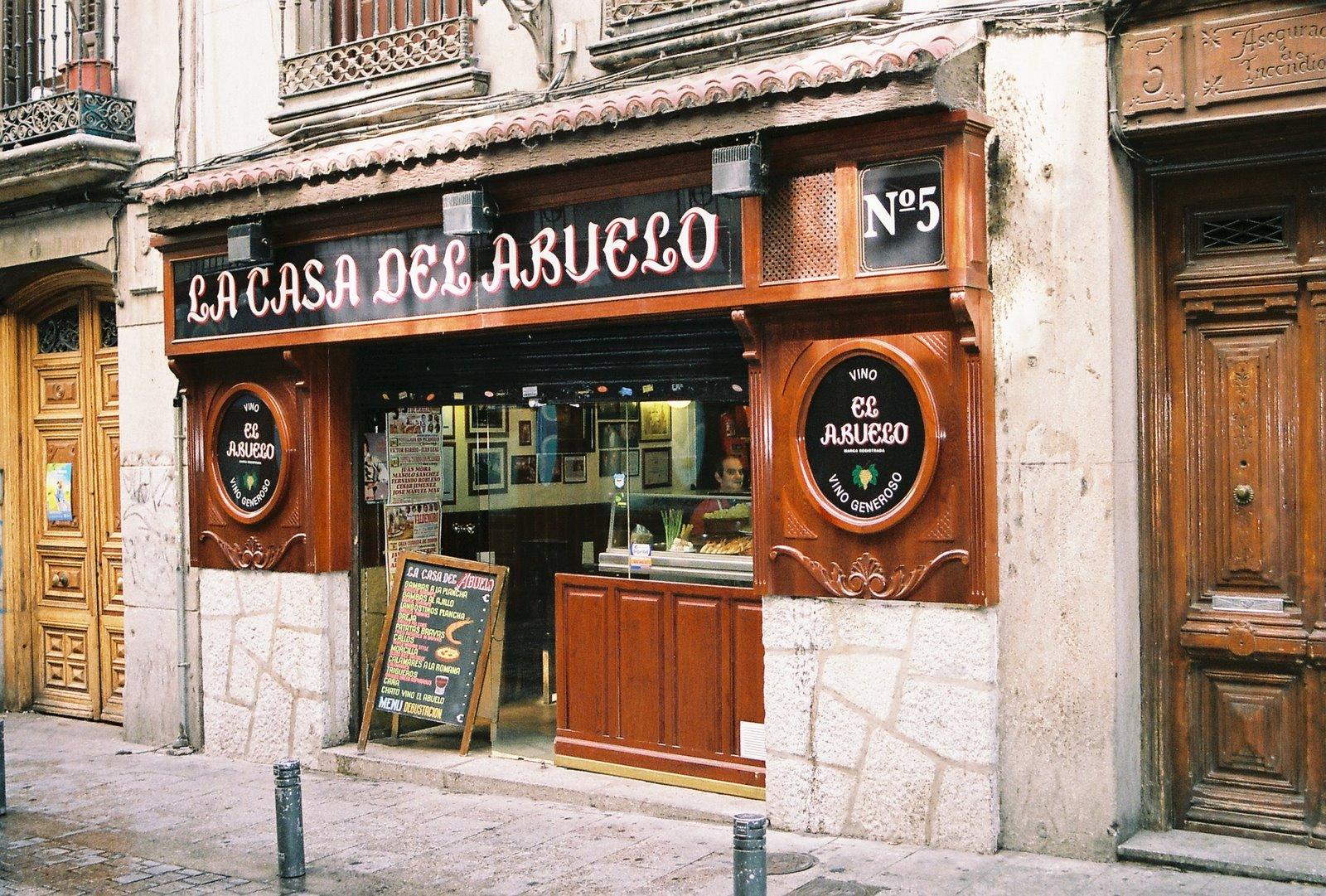 2 years in madrid culinary adventures la casa del abuelo - Casa de madrid ...