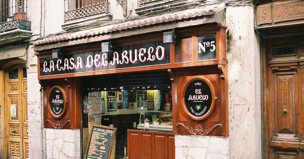 2 years in madrid culinary adventures la casa del abuelo - La casa vieja del abuelo ...