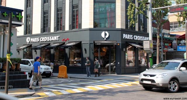 Establecimiento original de Paris Croissant en Seocho