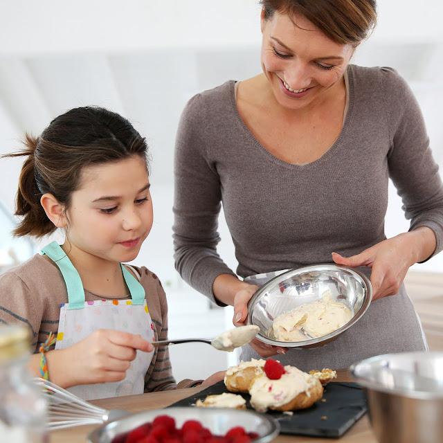 Cocinando con mamá