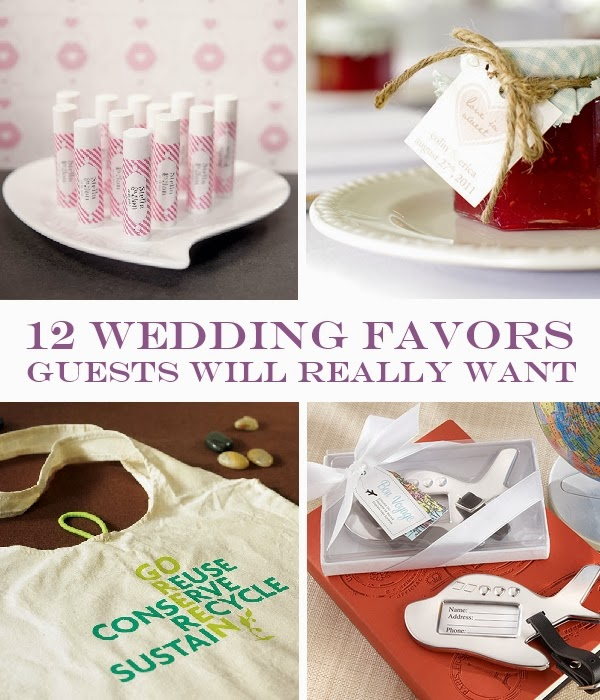Wedding Favors Ideas For Guests : 12 Wedding Favors Guests Will Really Want Things Festive Weddings ...
