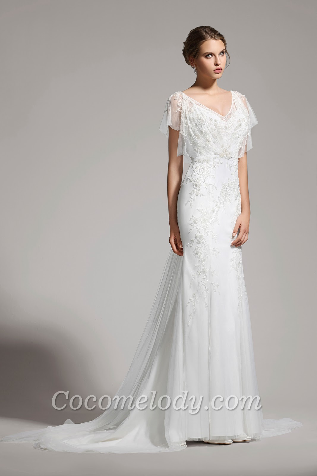 Wedding dress for country wedding