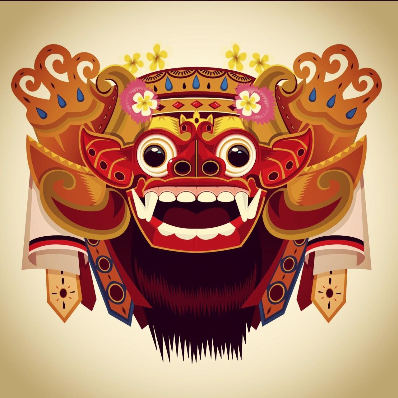 O U Z Creativesite Vector Barong Bali