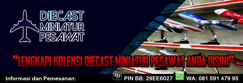 Jual Miniatur Pesawat