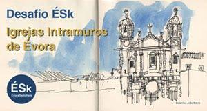 DESAFIO ÉSk - Igrejas Intramuros de Évora
