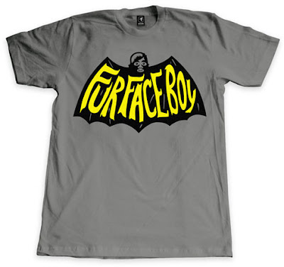 """Fur Face Crusader"" Batman The Dark Knight Rises T-Shirt by Fur Face Boy"