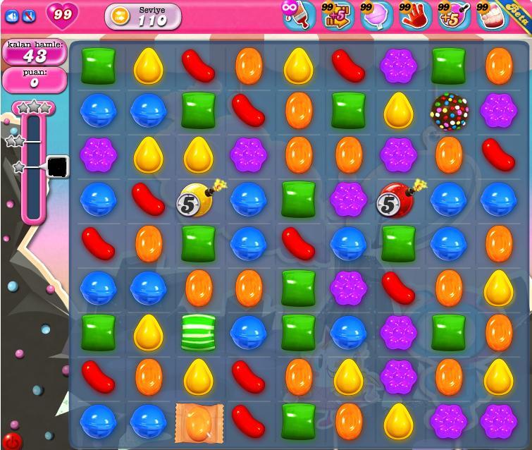 Candy Crush hilesi | şimdi çikolatalar düşünsün!-! BlogMania