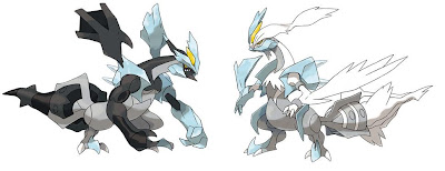 Pokemon Black Kyurem White Kyurem