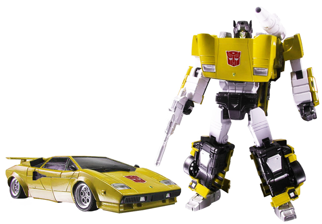 [Masterpiece] MP-12T Tigerjack (aka Sideswipe/Frérot Jaune) + MP-14C Clampdown (aka Sideswipe/Frérot Blanc) MP-12T+tigertracks