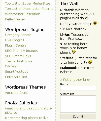 wp-wall-wordpress-jquery-plugin