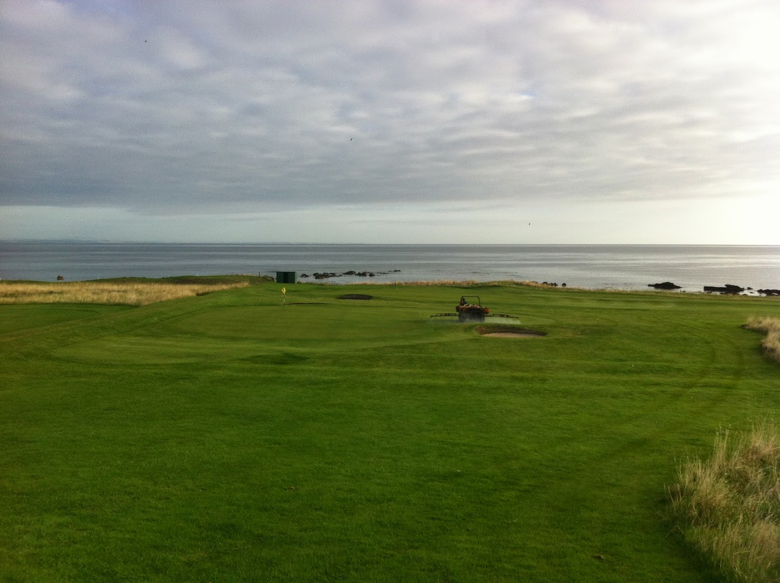 Crail Greenkeeper39s Blog September 2014