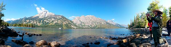 Jenny Lake Park Ranger