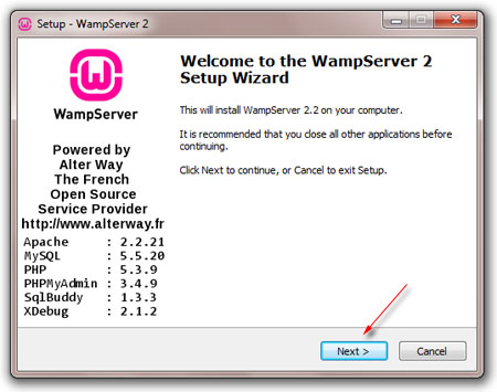install wampserver