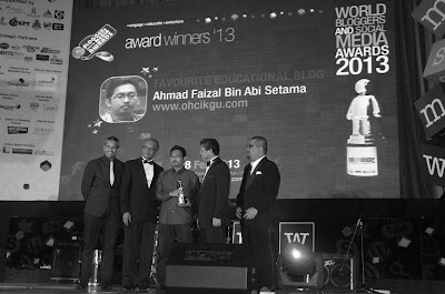 Anugerah MSMW Blogger en Titan