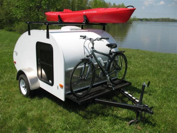 pop up motorcycle trailer with Teardrop Mini Wohnwagen on Page 12 furthermore 22358 likewise Small Pop Up C ers Lightweight furthermore Motorcycle C er Trailers additionally This Past Summers Most Interesting Little Rvs.