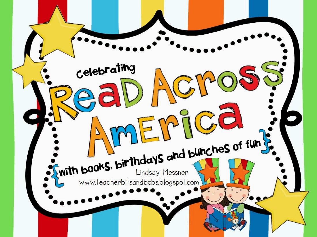 http://www.teacherspayteachers.com/Product/Read-Across-America-Celebrating-with-books-birthdays-and-bunches-of-fun-569321