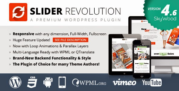 Slider Revolution Responsive WordPress Plugin v4.6.92