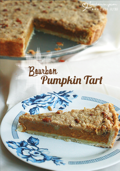 Hearts in My Oven: Bourbon Pumpkin Tart