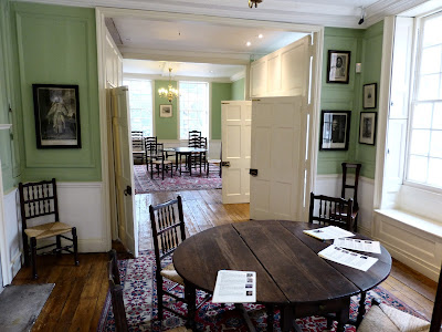 1st floor, Dr Johnson's House Museum Photo © Andrew Knowles