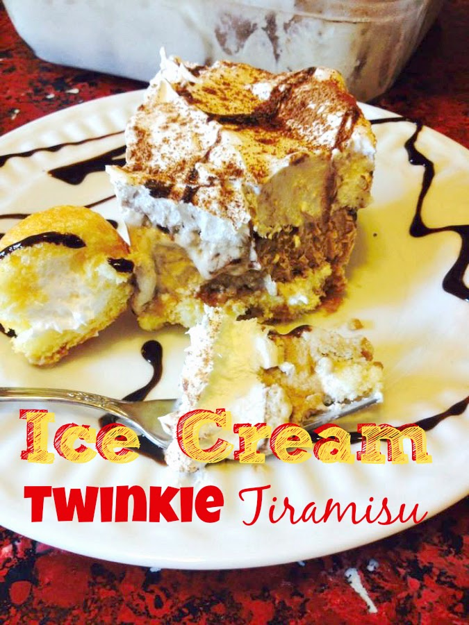 SusieQTpies Cafe: Ice Cream Twinkie Tiramisu Recipe #TwinkieCookbook # ...