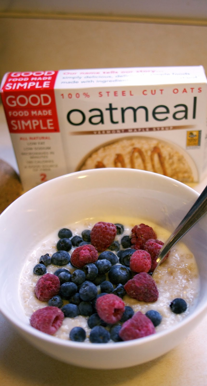 steel cut oatmeal: simplelivingeating.com