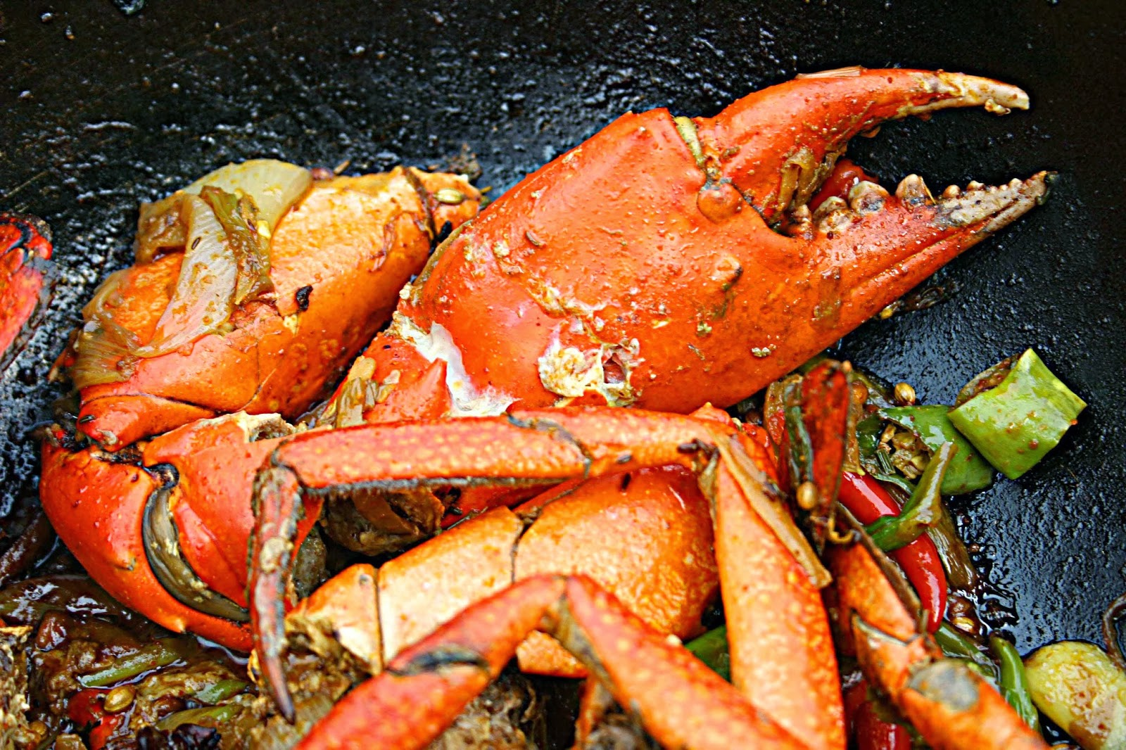 Tawa Crab from Salt'n Pepper Village Cookbook