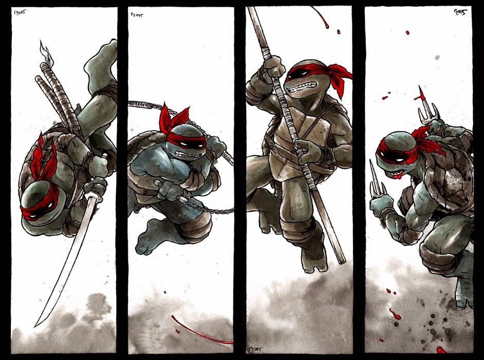Primer cómic color Tortugas Ninjas 1984