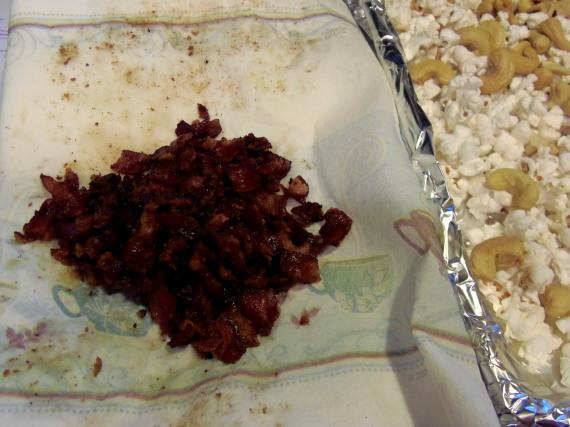 Cashew Bacon Caramel Corn - Kudos Kitchen by Renée