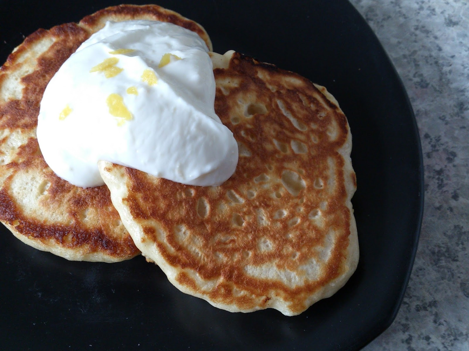 Suzanne's Kitchen : Fluffy lemon ricotta pancakes from Weight Watchers