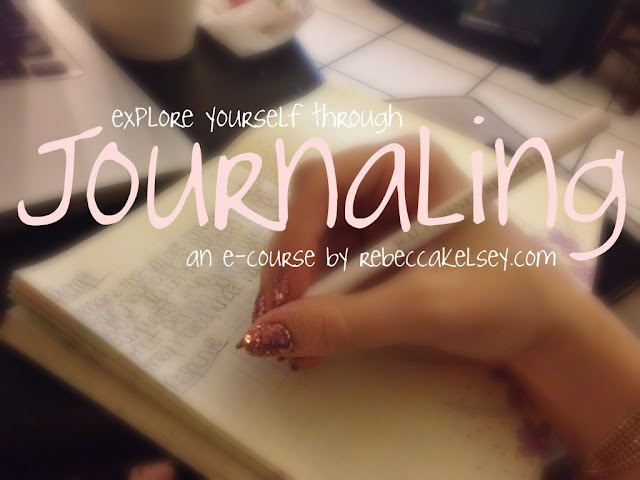 Journaling, e-course, tips