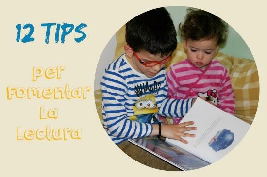 cartell tips o idees per fomentar la lectura