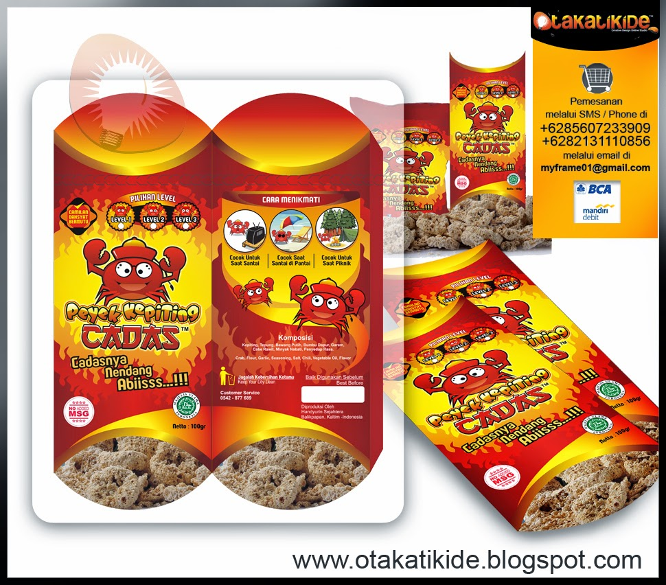 jasa desain kemasan produk makanan ukm desain packaging snack makanan surabaya jakarta gresik medan batam sidoarjo