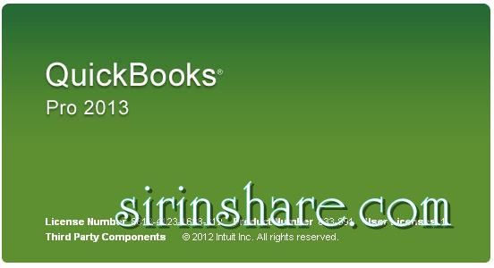 quickbooks 2013 serial number and product key