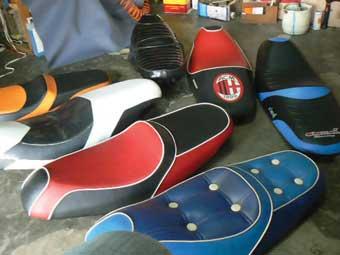 kumpulan modifikasi jok motor mio sporty