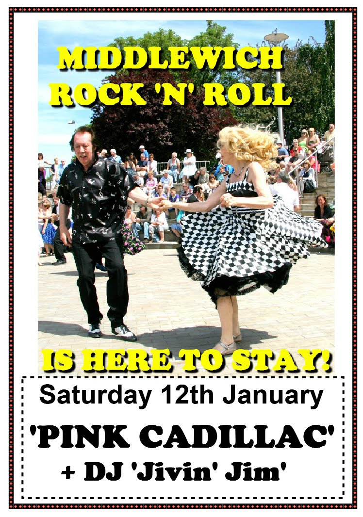 MIDDLEWICH ROCK & ROLL IS HERE TO STAY