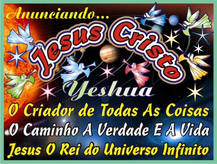 Os Arcanjos do Altíssimo Anunciando Yeshua Jesus Cristo O Salvador