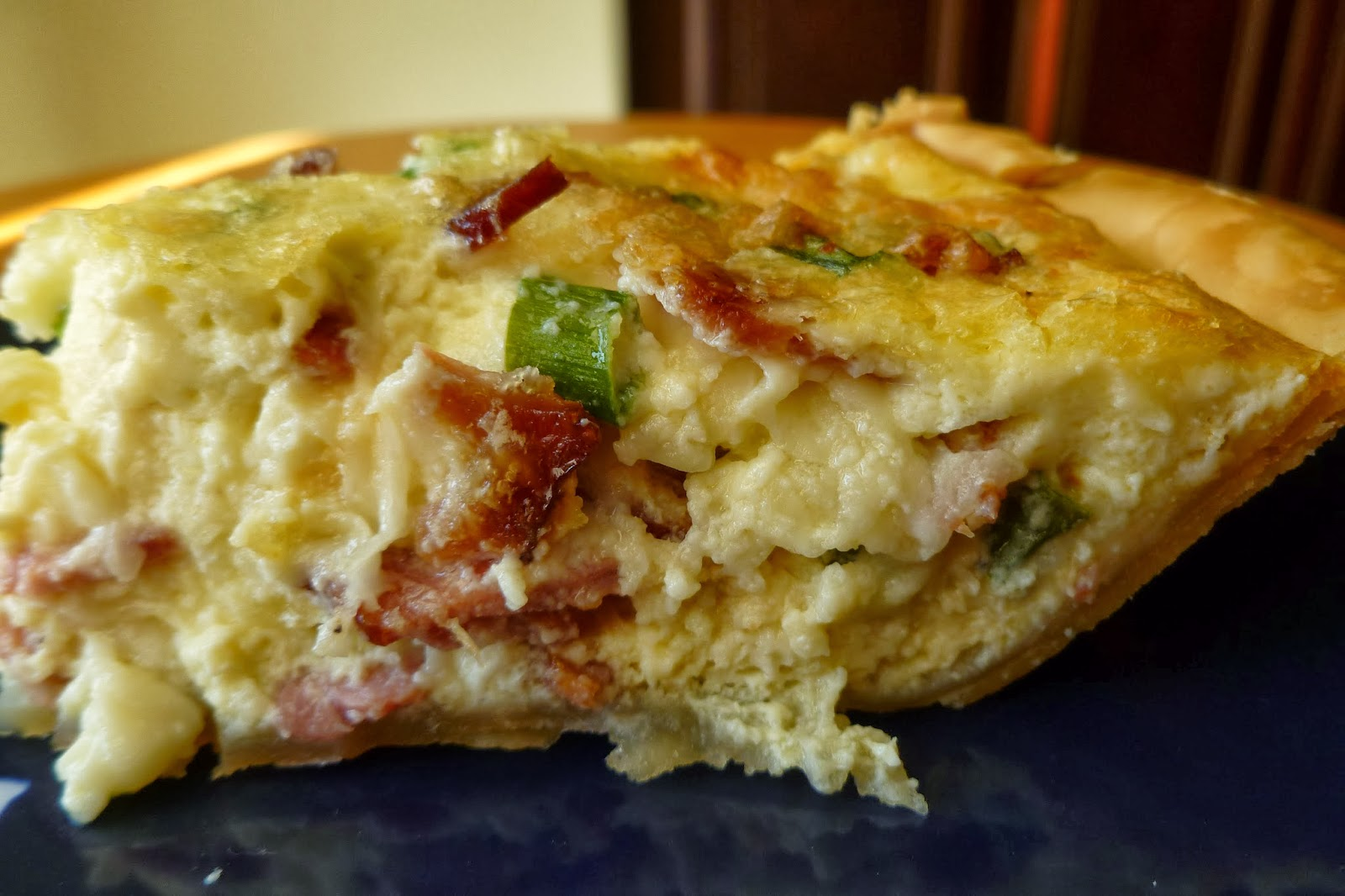 The Pastry Chef's Baking: Bacon Quiche