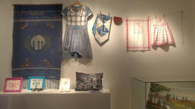 Sala de confección típica en el Museo Nórdico