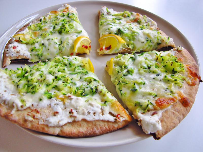 themustardseed.....: Zucchini and meyer lemon pizza